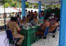 Babinsa Posramil Biak Timur Hadiri Peresmian Operasional Pasar Ikan Bosnik