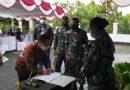 Sukseskan Program Pemerintah, Kodim 1701/Jayapura Beri Bantuan Tunai Kepada Pedagang Kaki Lima dan Warung